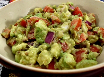 Smoky Chipotle Guacamole | Recipe from FatFree Vegan Kitchen