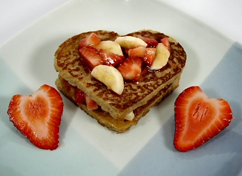 Sweet Heart Toast