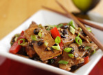 Home-Style Tofu with Shiitake Mushrooms