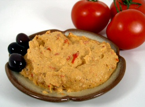 Spicy Red Pepper Hummus
