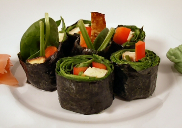 ... Sushi (Brown Rice and No-Rice Sushi) | Recipe from FatFree Vegan