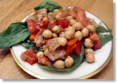 Chana Masala Salad