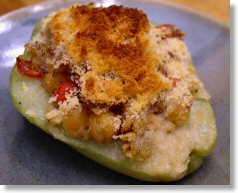 Louisiana Stuffed Mirletons (Chayote)