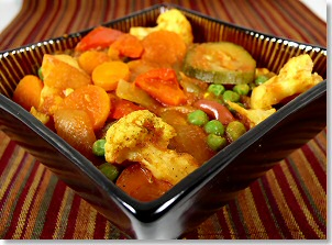 Vindaloo Vegetables